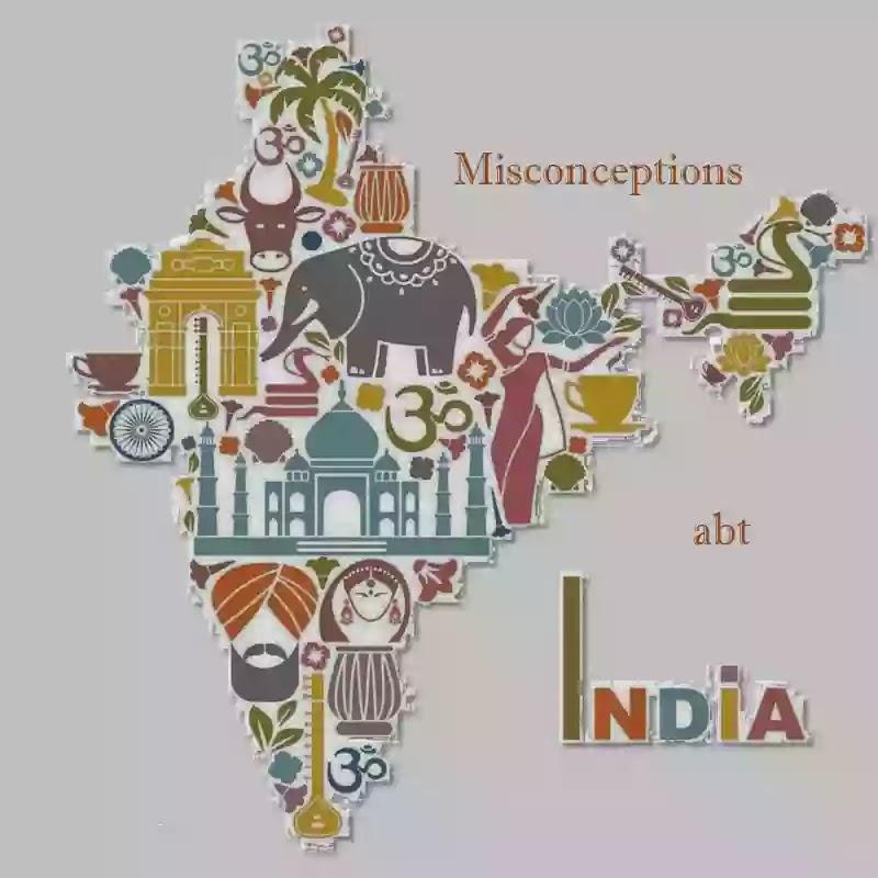 Bildergebnis für misconceptions about india